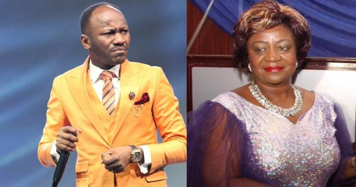 Buhari's Aide Is Burdened By Challenges Of Life, Apostle Suleiman Replies (pic)