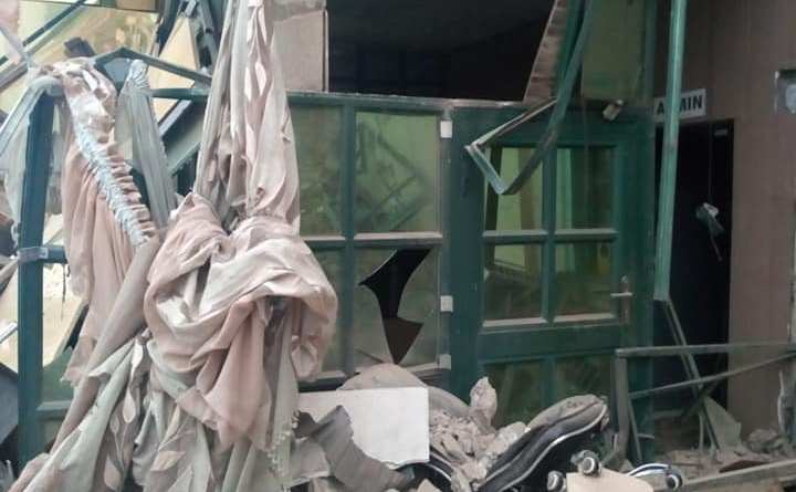 My Pains, My Sweat, Aiyefele Cries Out (See the demolished structures)!$)