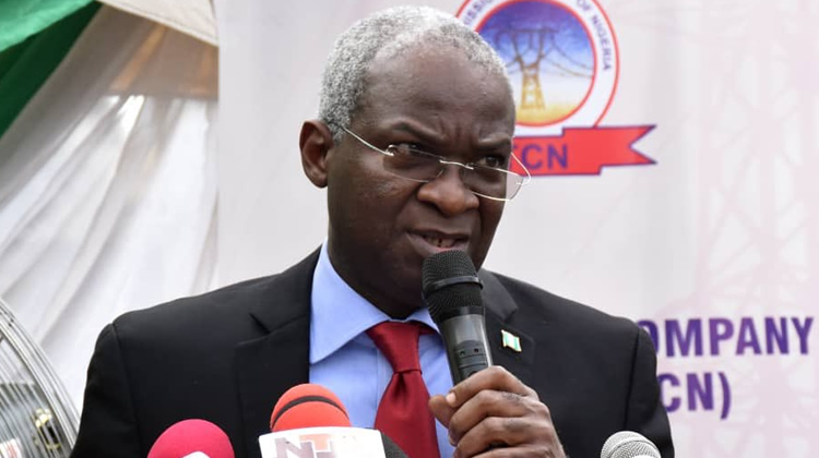 It's Not FG's Problem If Nigerians Lack Electricity, Fashola (pic)