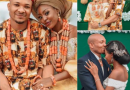 'Eeh Yah, You Are The Next Victim Of This Gold Digger, Manipulative Psychopath', Nigerians Expose New Husband To A Young Bride (pics)