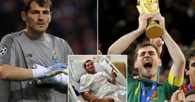 Football Legend & Spaniard Goalkeeper, Iker Casillas Retires From Football After Suffering A Heart Attack (pic)