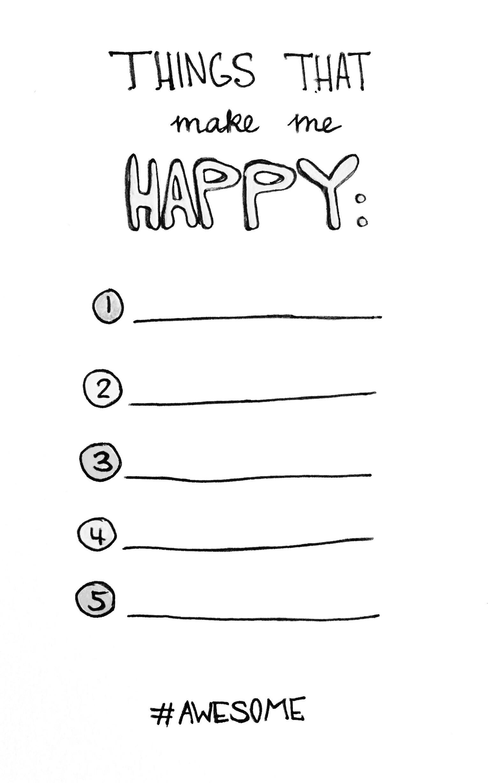 Things That Make Me Happy Olya Schmidt