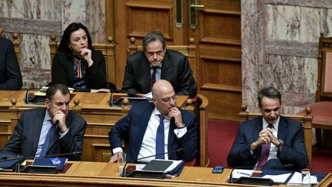Η τριχοτόμηση της κυβερνητικής παράταξης στα Ελληνοτουρκικά καθιστά την κυβέρνηση αδύναμη με άγνωστες συνέπειες για τη χώρα