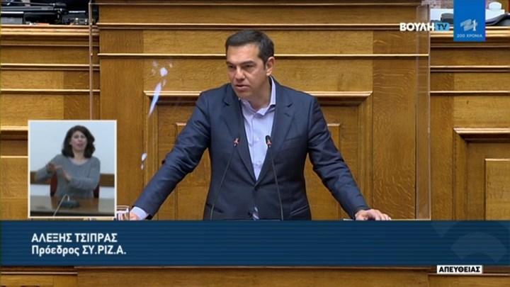 Κεραυνοί Τσίπρα στη Βουλή: Δώσατε την ευκαιρία στον Λιγνάδη να εξαφανίσει ενοχοποιητικά στοιχεία!