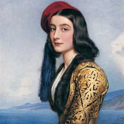 Κατερίνα Ρόζα Μπότσαρη: Η παραμυθένια ζωή της κορης του ήρωα που έμεινε στο πάνθεον των ωραίων γυναικών και στην αιωνιότητα