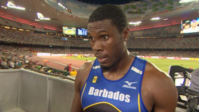 Ramon Gittens Barbados Rio 2016 team
