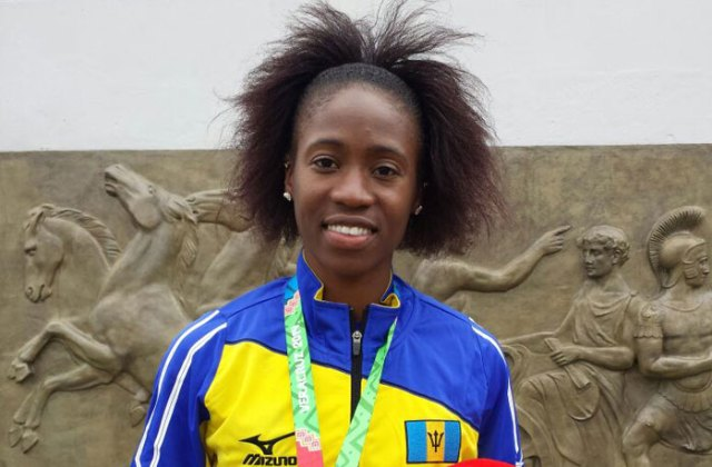 Kierre Beckles Barbados Rio 2016 team