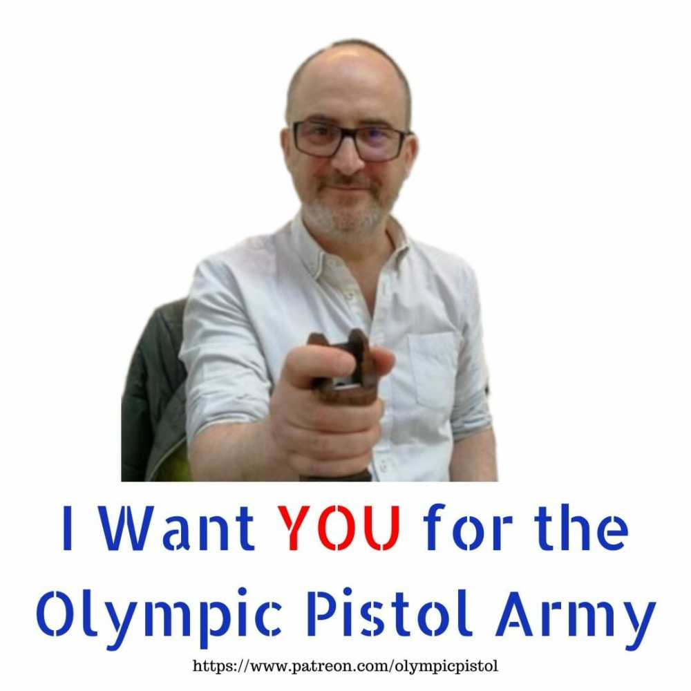I Want YOU for the Olympic Pistol Army