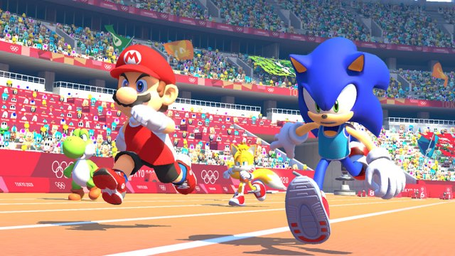 Image result for mario & sonic at the olympic games tokyo 2020