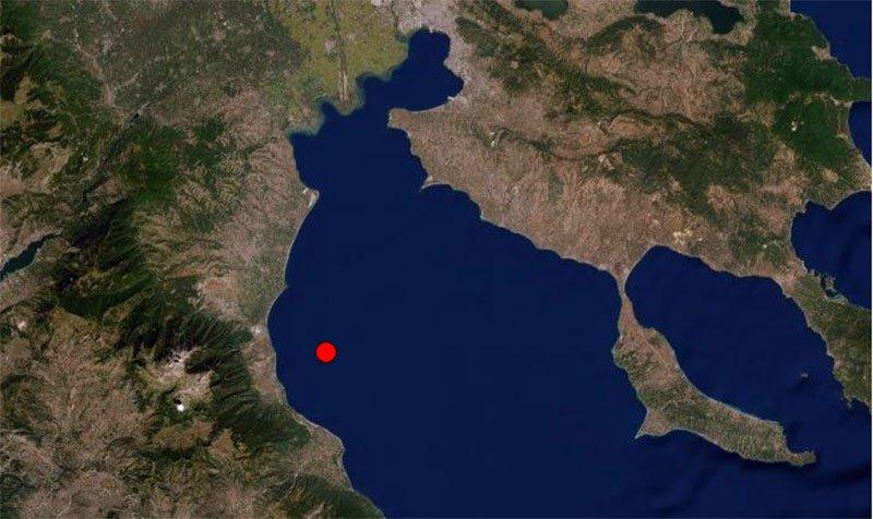 Σεισμός στα παράλια της Νότιας Πιερίας