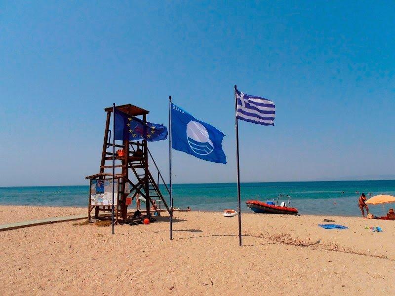 Κατερίνη | Σε 6 Παραλίες κυματίζει η «Γαλάζια Σημαία»