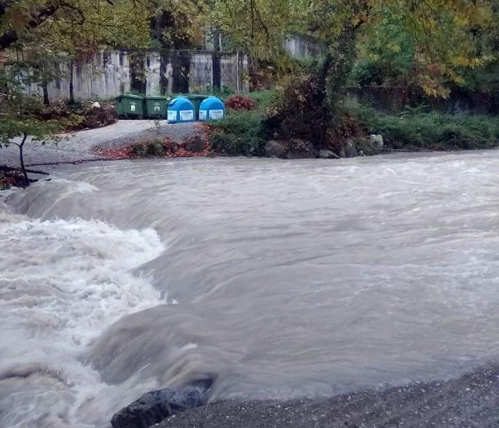 Ιανός   Έντονες βροχοπτώσεις στον Όλυμπο - Σοβαρά προβλήματα στην υδροδότηση του Λιτοχώρου
