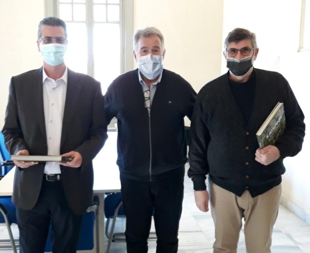 Συνάντηση Νταντάμη με τον Πρόεδρο του Πράσινου Ταμείου στην Αθήνα