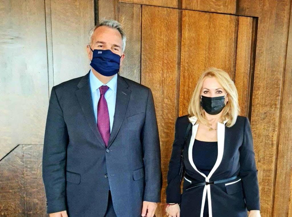 Μάνη   Συνάντηση με τον Υπουργό Εσωτερικών κ. Μάκη Βορίδη