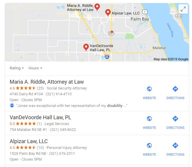 search local seo tips for google