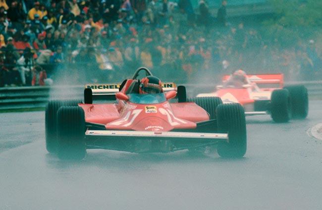 Gilles Villeneuve (CDN) Ferrari 126CK. Canadian Grand Prix, Montreal, Canada. 27 September 1981.