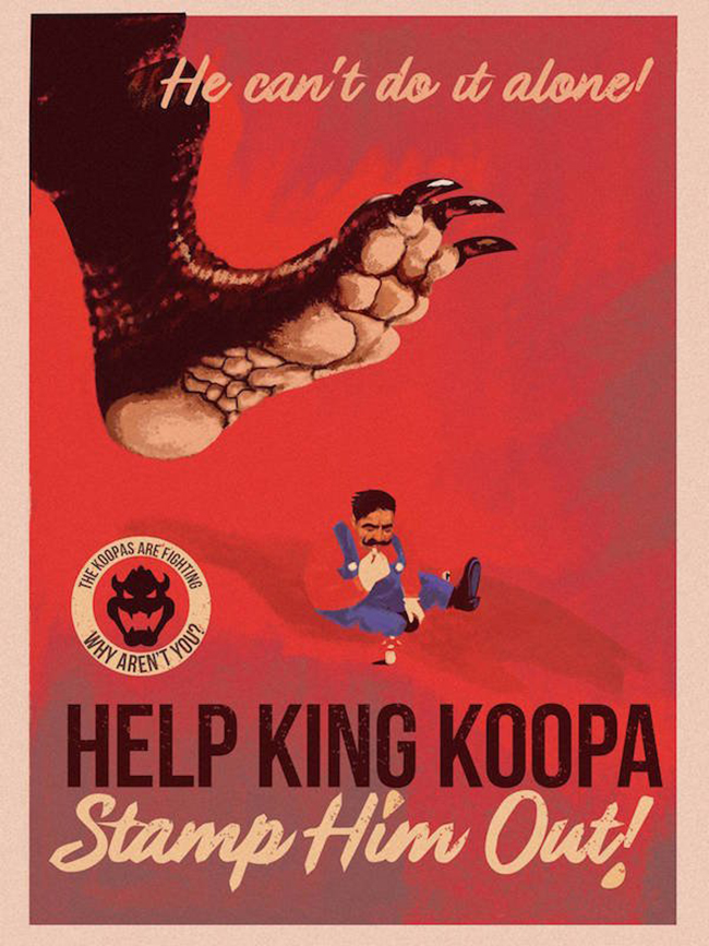 Fernando Reza, propaganda, anti-Mario
