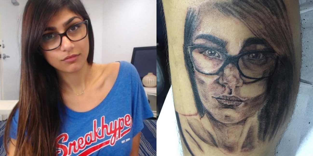 brasileiro, tatuou, Mia Khalifa, Instagram