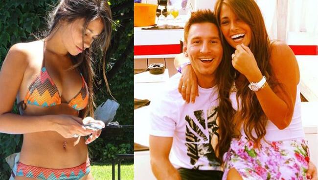 Lionel Messi, Antonella Raccuzzo