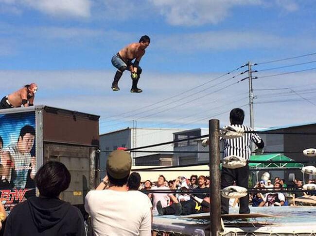 wrestling japonês