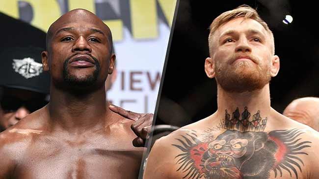 McGregor x Mayweather