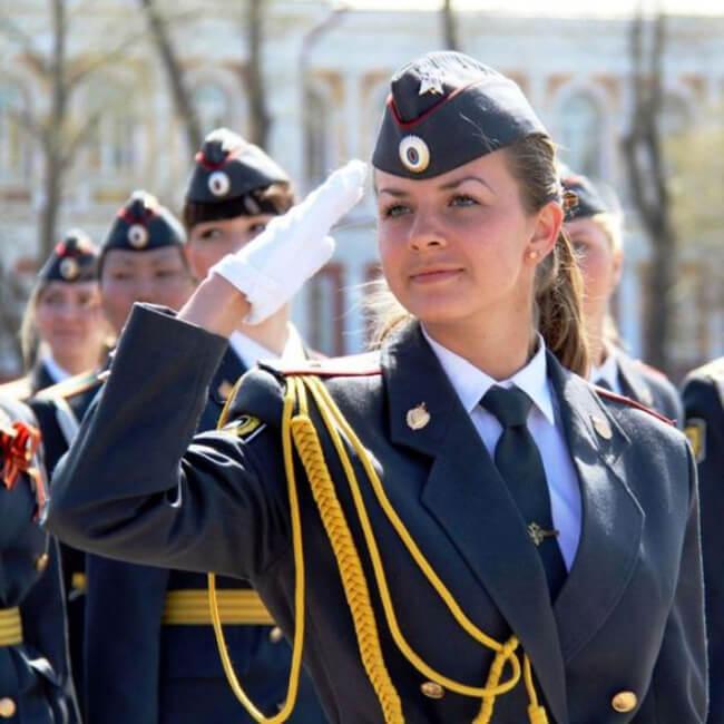 policiais russas