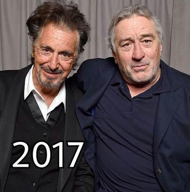 Robert de Niro e Al Pacino