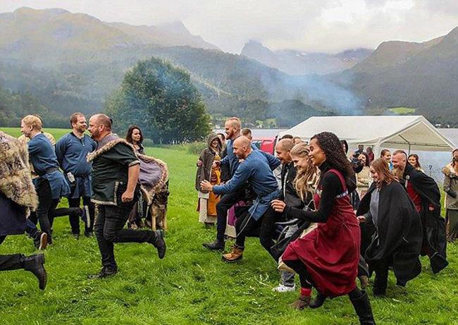 casamento viking