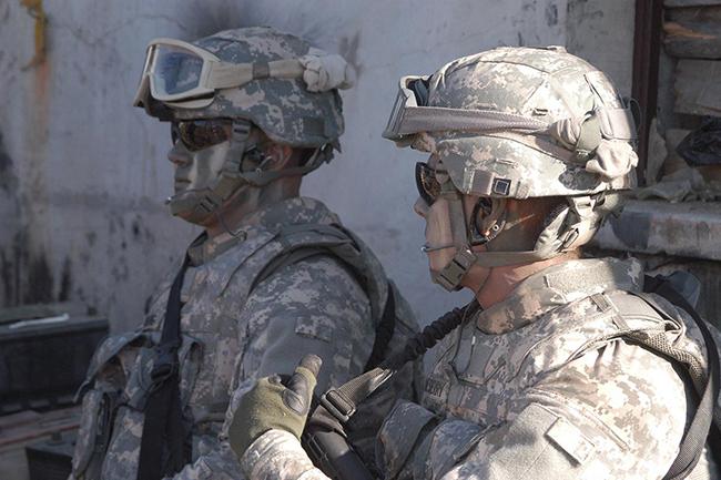 capacetes de guerra