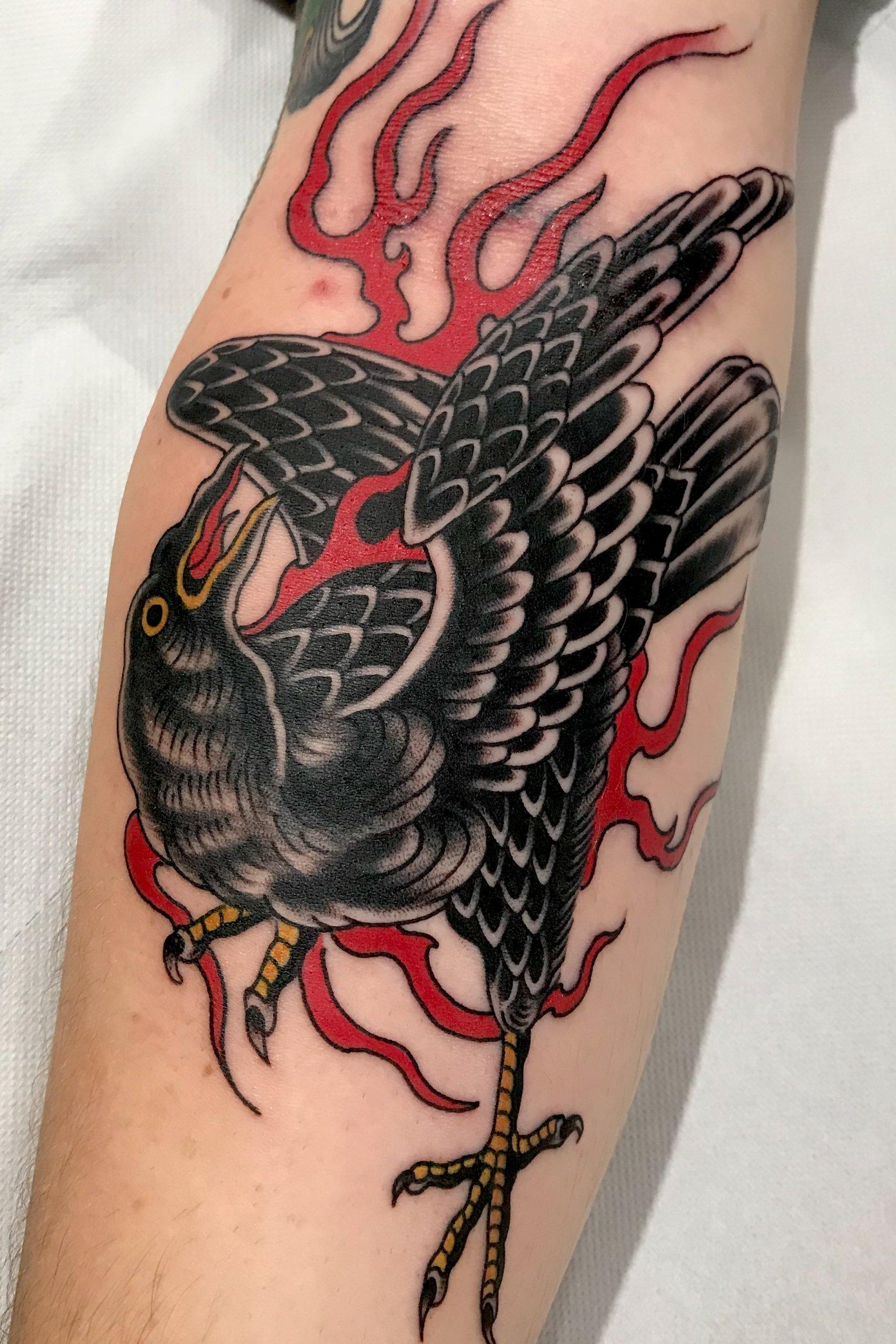 tatuagens de corvo