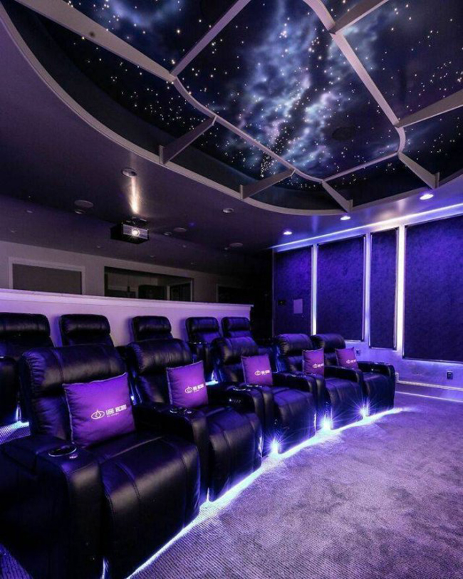 salas de cinema particulares