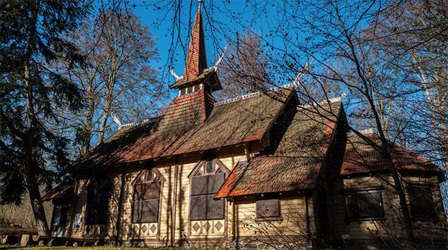 antiga igreja alemã