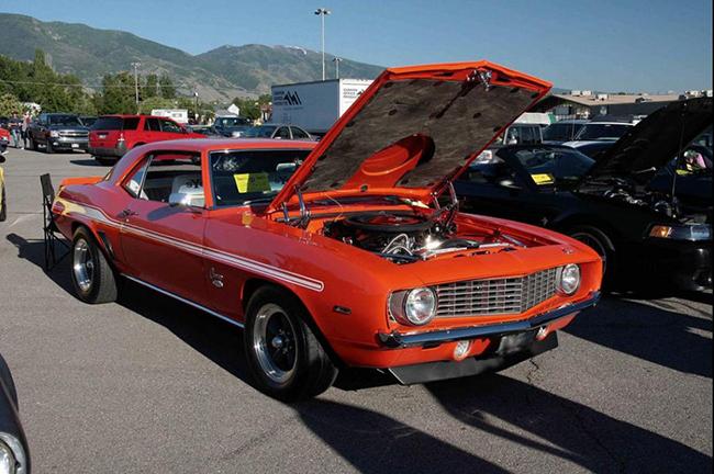 Camaro 1969 roubado