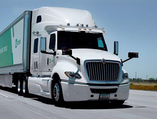 caminhões autônomos