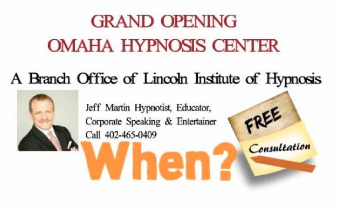 Video: Grand Opening Announcement Hypnosis in Omaha
