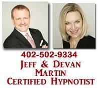 Jeff and Devan Martin Hypnotist -hypnotherapist