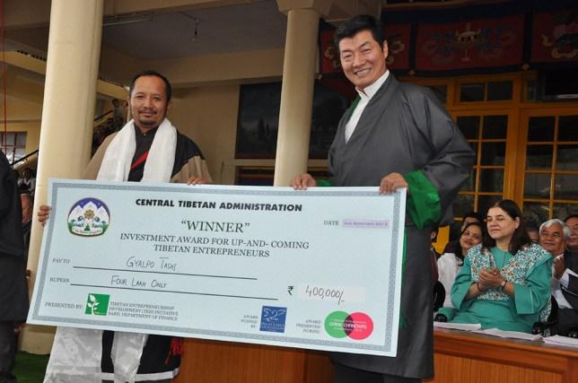 Sikyong award