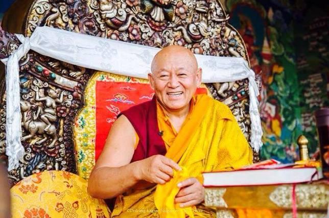 drikung kyabgon chetsang rinpoche