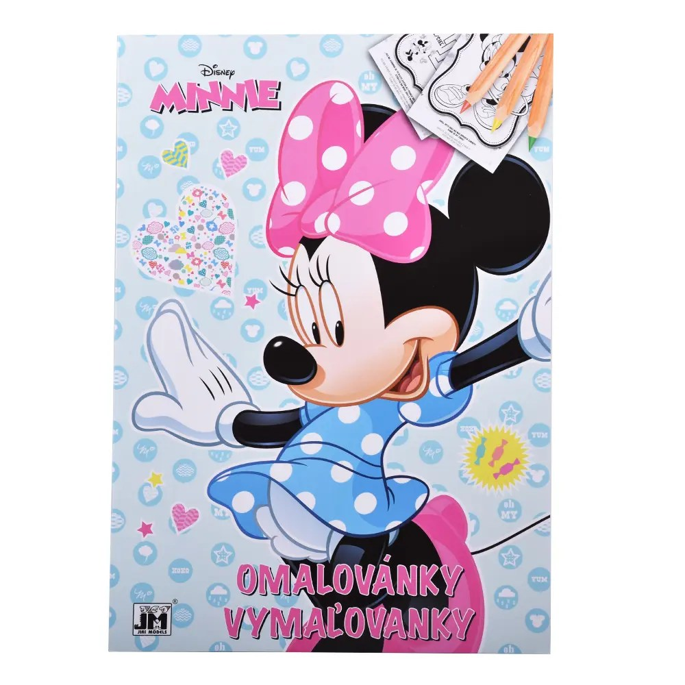 Omalovanka Minnie - Oma & Luj