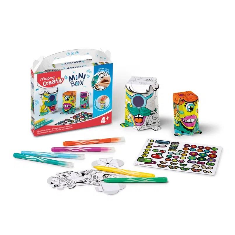 Kreatívna sada Minibox Maped príšerky - Oma & Luj