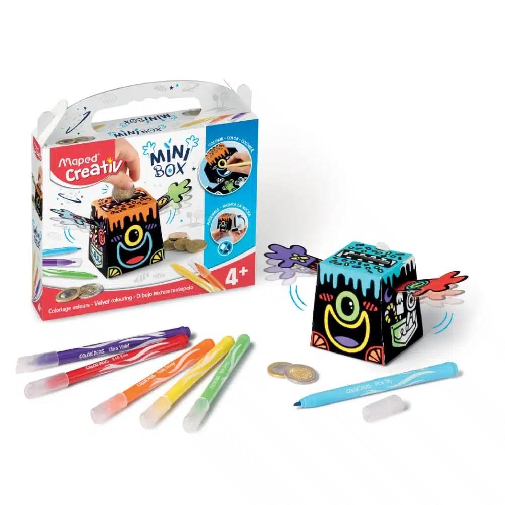 Kreatívna sada Minibox Maped pokladnička 5 - Oma & Luj