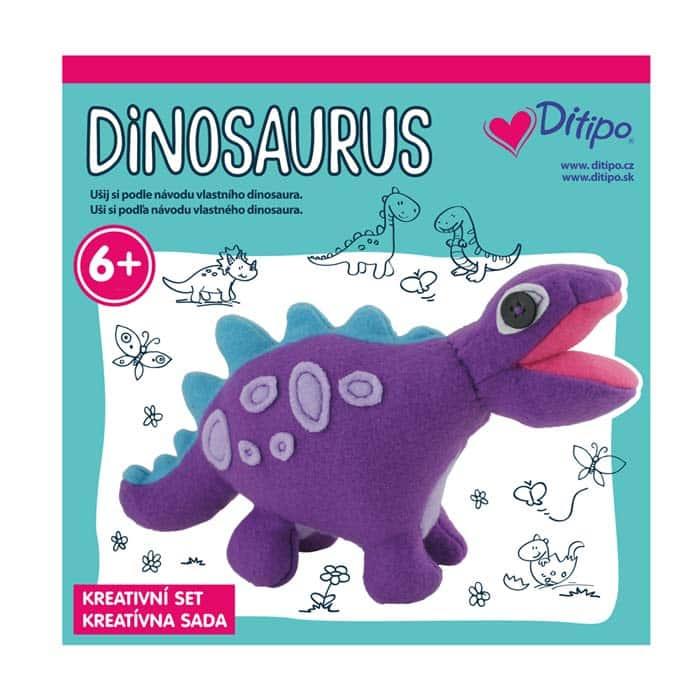 Kreatívna sada Uši si dinosaura - Oma & Luj