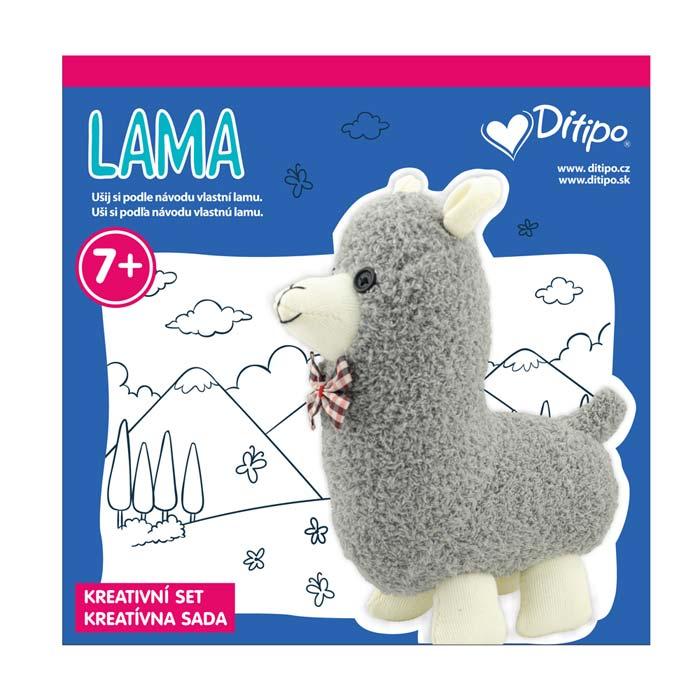 Kreatívna sada Uši si lamu - Oma & Luj