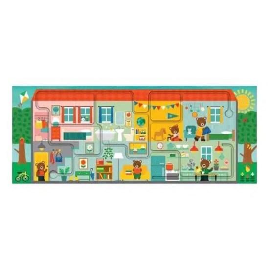 Bludisko a puzzle Náš domov- Oma & Luj