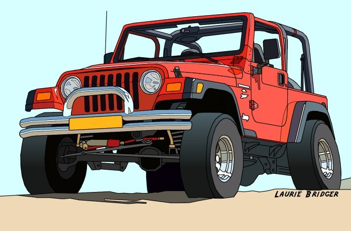 Картинки по запросу jeep cartoon