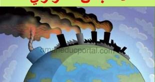 ملخص شرح درس الاحتباس الحراري للصف العاشر مادة الدراسات الاجتماعية الفصل الاول