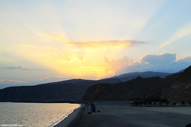 Sunrise at Bassah beach