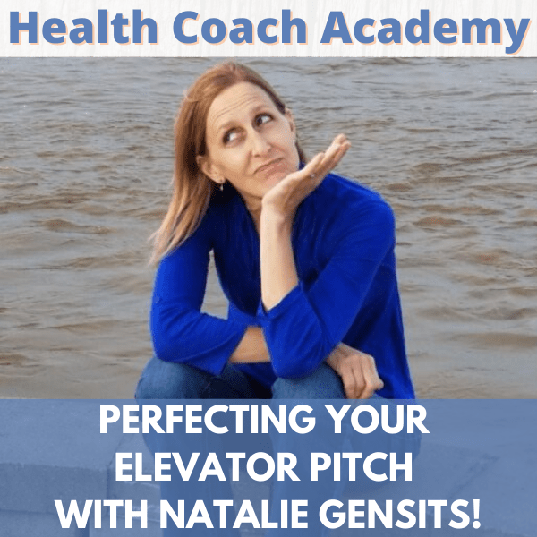 Perfecting Your Elevator Pitch with Natalie Gensits!