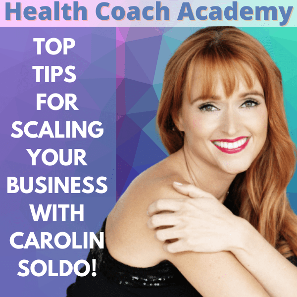Top Tips for Scaling Your Business with Carolin Soldo!