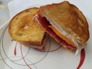 Grilled Turkey and Cheese